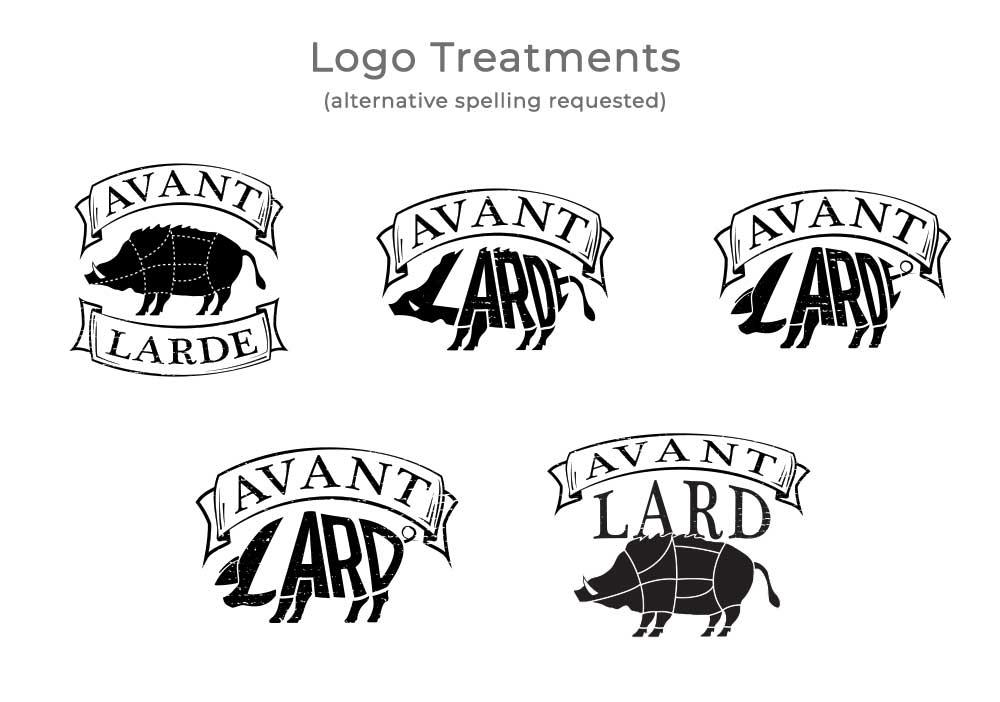 Avant Lard Logo Concepts