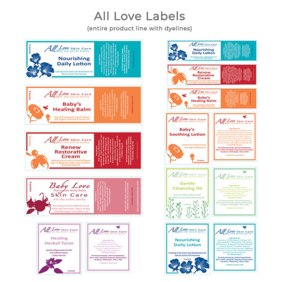 All Love Labels