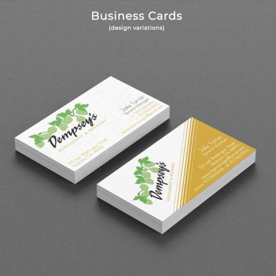Dempsey's Business Cards