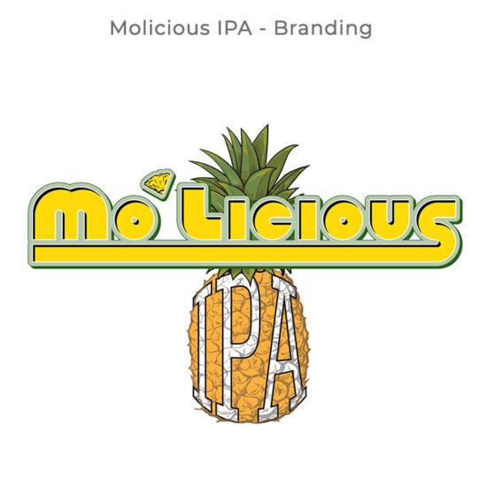 Dempsey's Molicious IPA Branding
