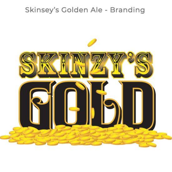 Dempsey's Skinsey's Golden Ale Branding
