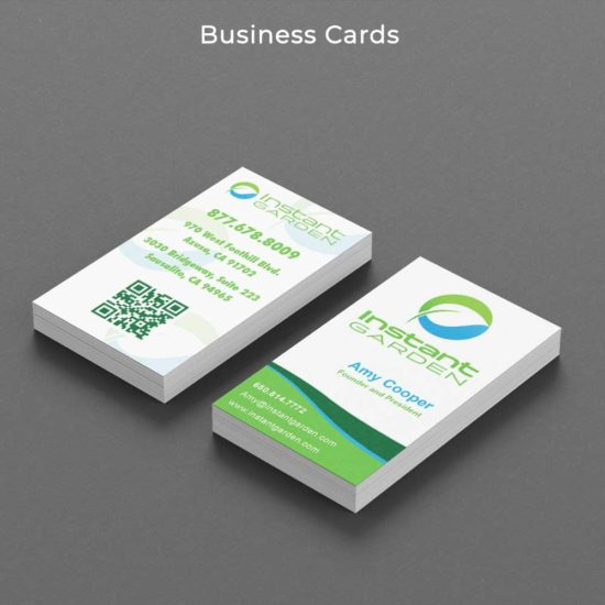 Instant Garden Business Cards
